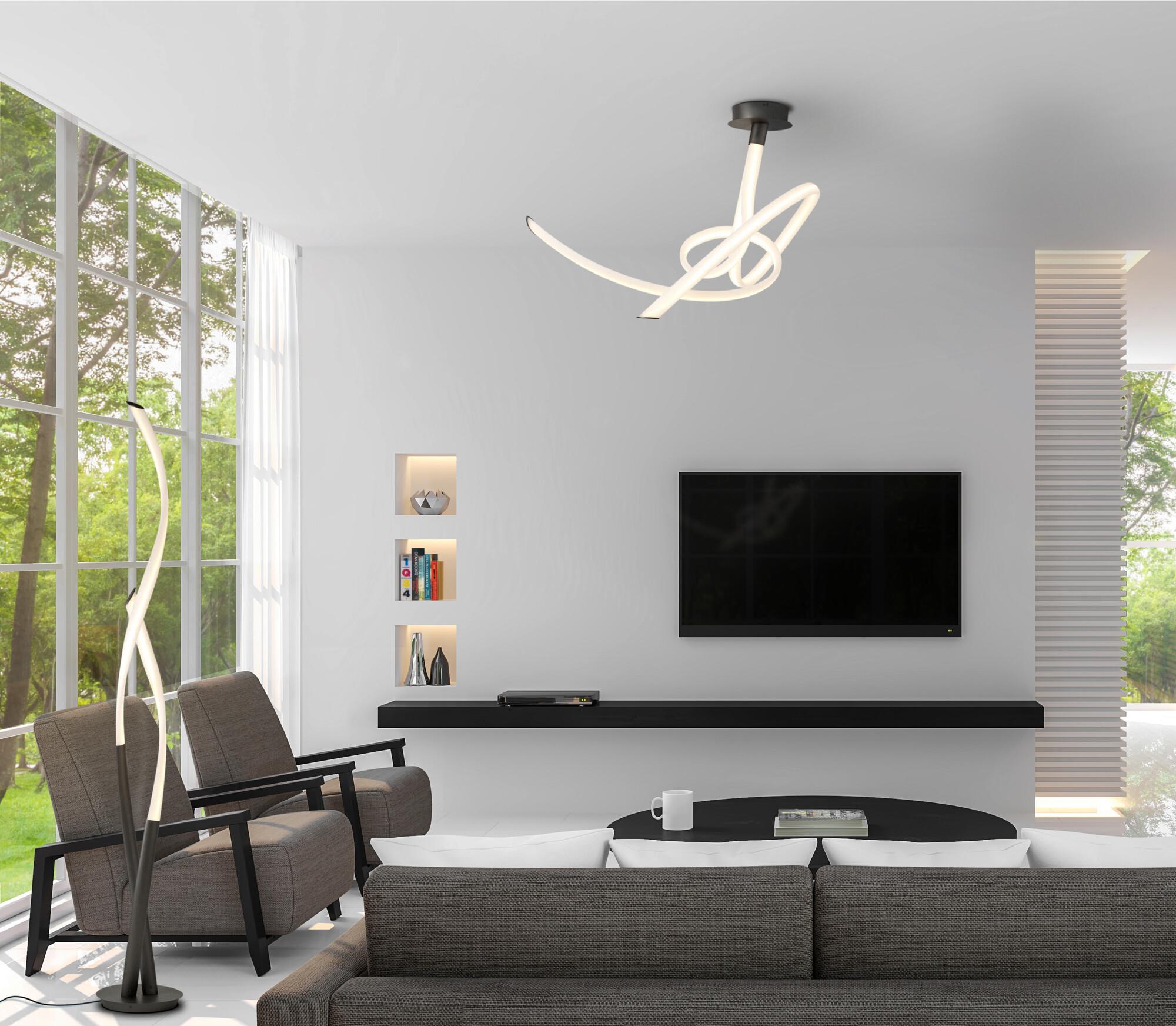TITANIO Plafondlamp LED 1x60W/4500lm Wit