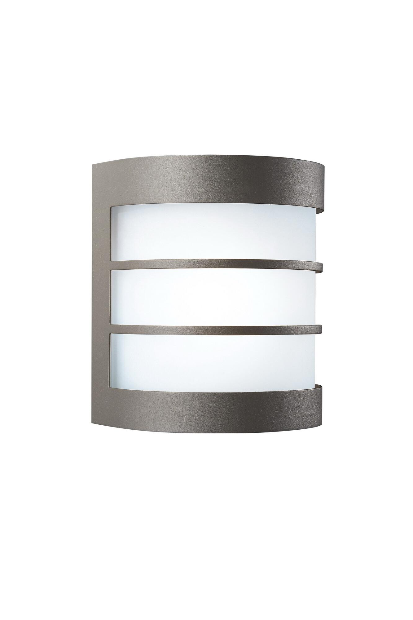 Philips CALGARY Wandlamp E27 1x8W Lichtgrijs