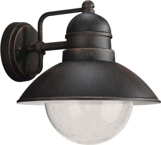 Philips DAMASCUS Wandlamp E27 1x Bruin