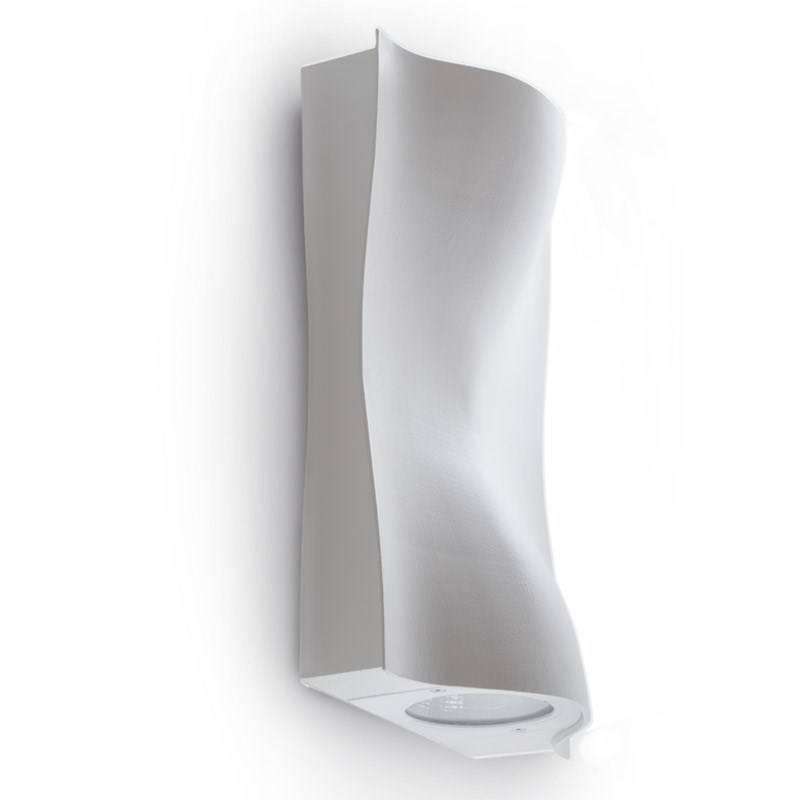 BALTI Wandlamp LED 2x38W/4000lm Antraciet