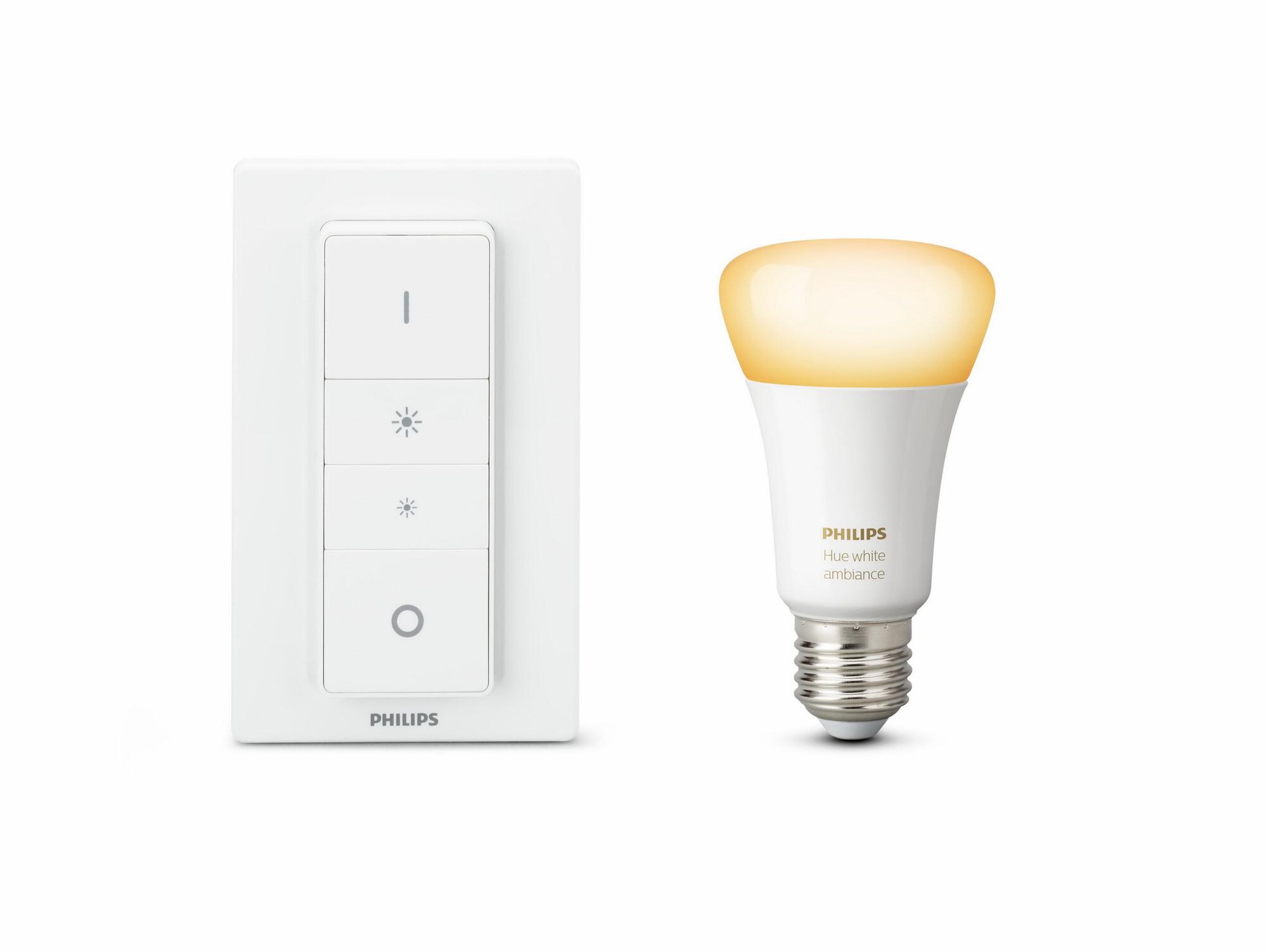 Philips HUE White ambiance E27 9,5W 806lm 2200K-6500K