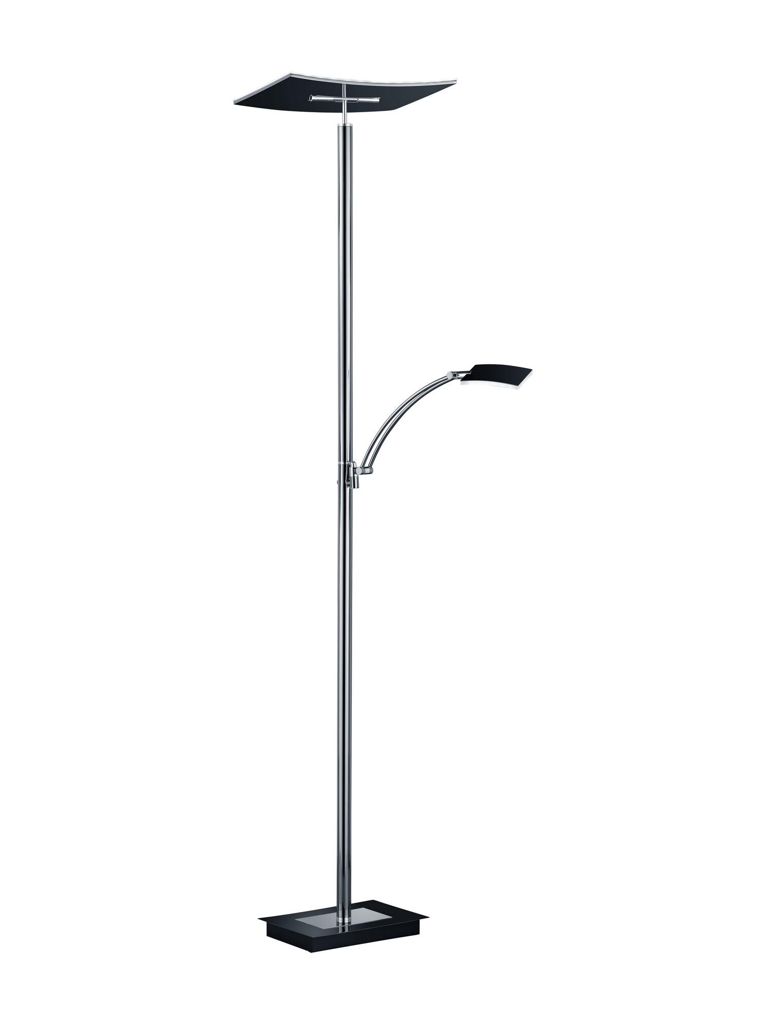 MODENA Lampadaire LED 2x36W/3500lm Noir