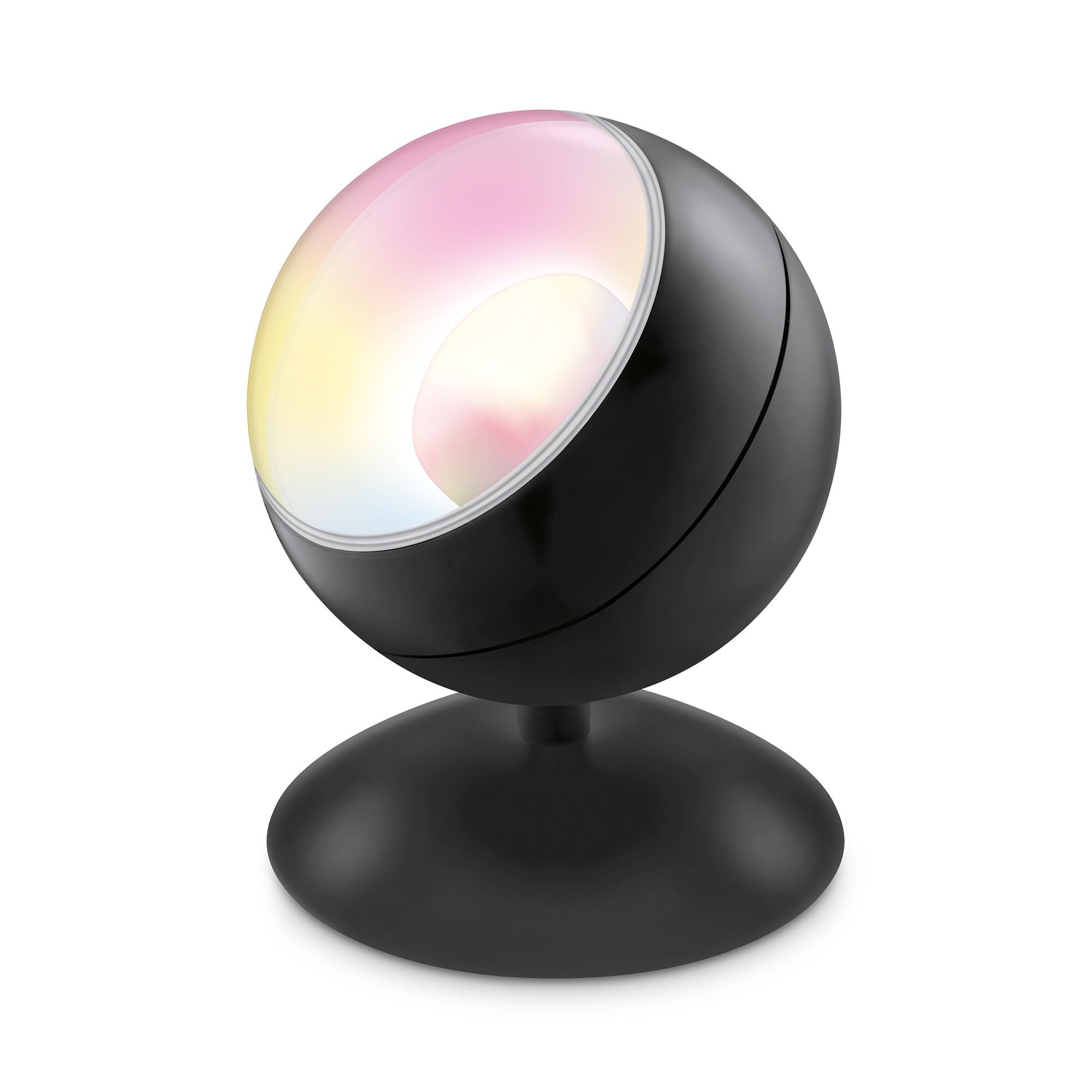 WiZ Tafellamp 1x13W Rond Zwart