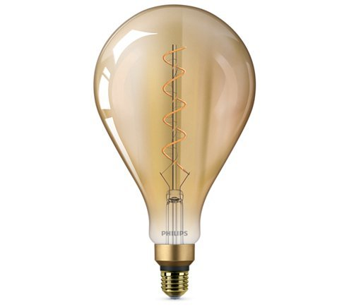 Philips GIANT E27 5W 300lm 2200K Lamp Gouden coating