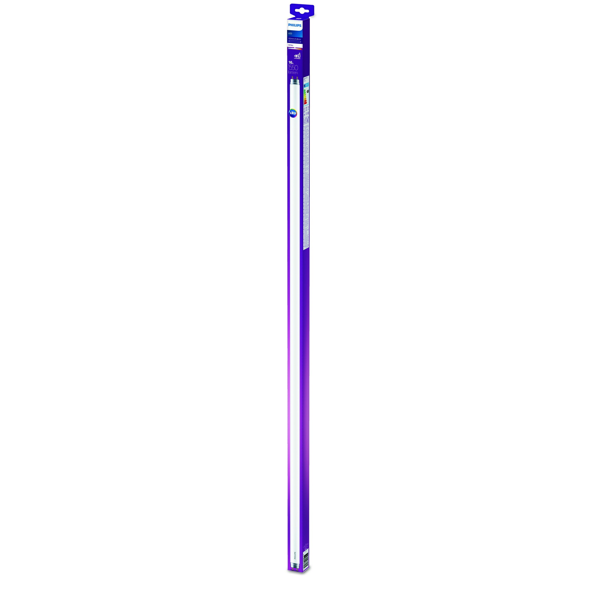 Philips LED T8 G13 16W 1550lm 3000K Tube Frosted