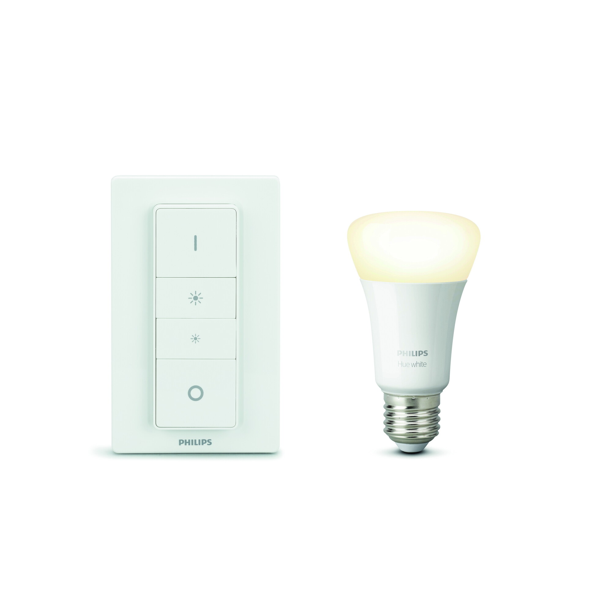 Philips HUE White E27 9,5W 806lm 2700K Lamp Frosted
