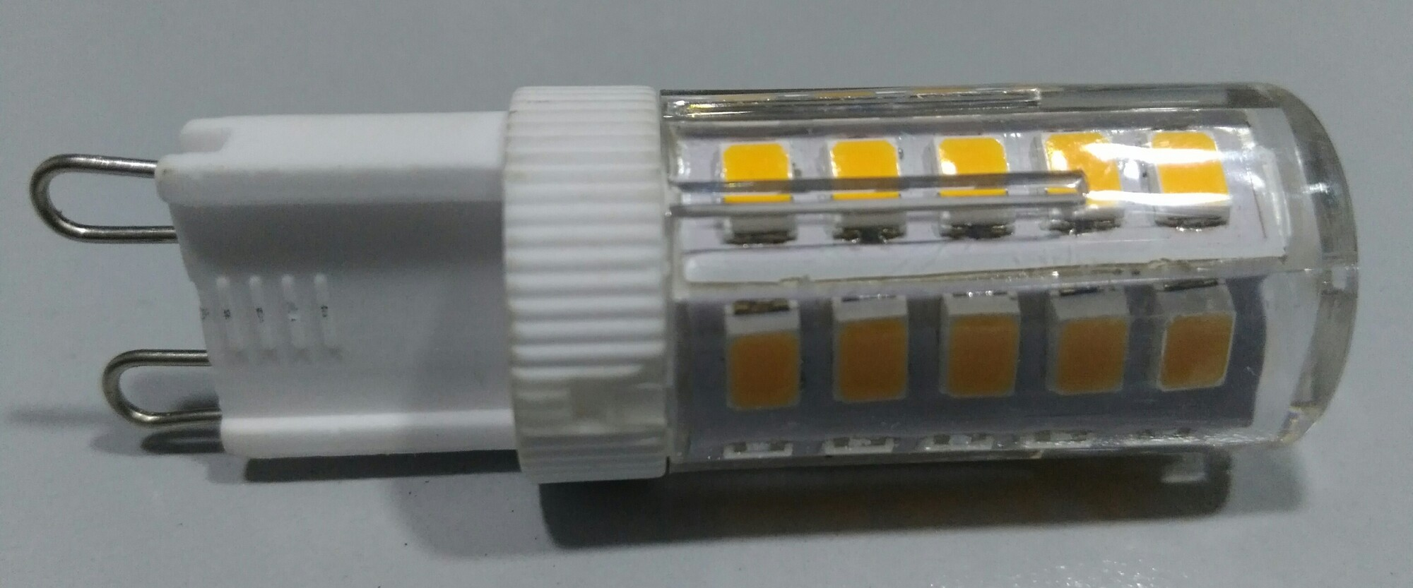 LED G9 2,5W 250lm 3000K Capsule Transparant