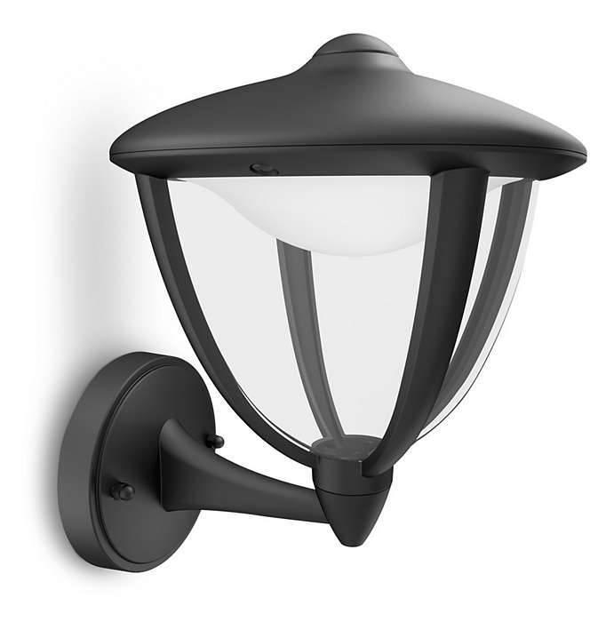 Philips ROBIN Wandlamp LED 1x6W/430lm Zwart