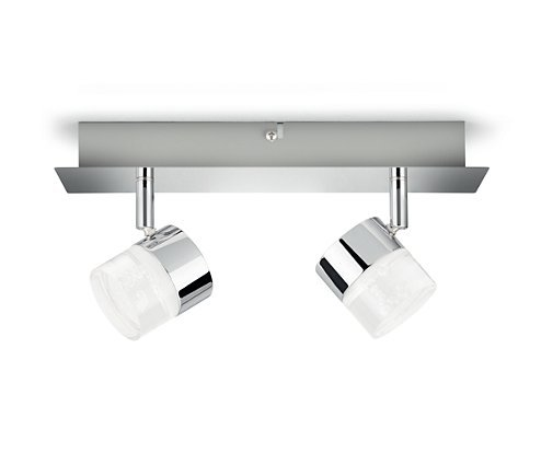 Philips FLOAT Opbouwspot LED 2x5W/400lm Zilver