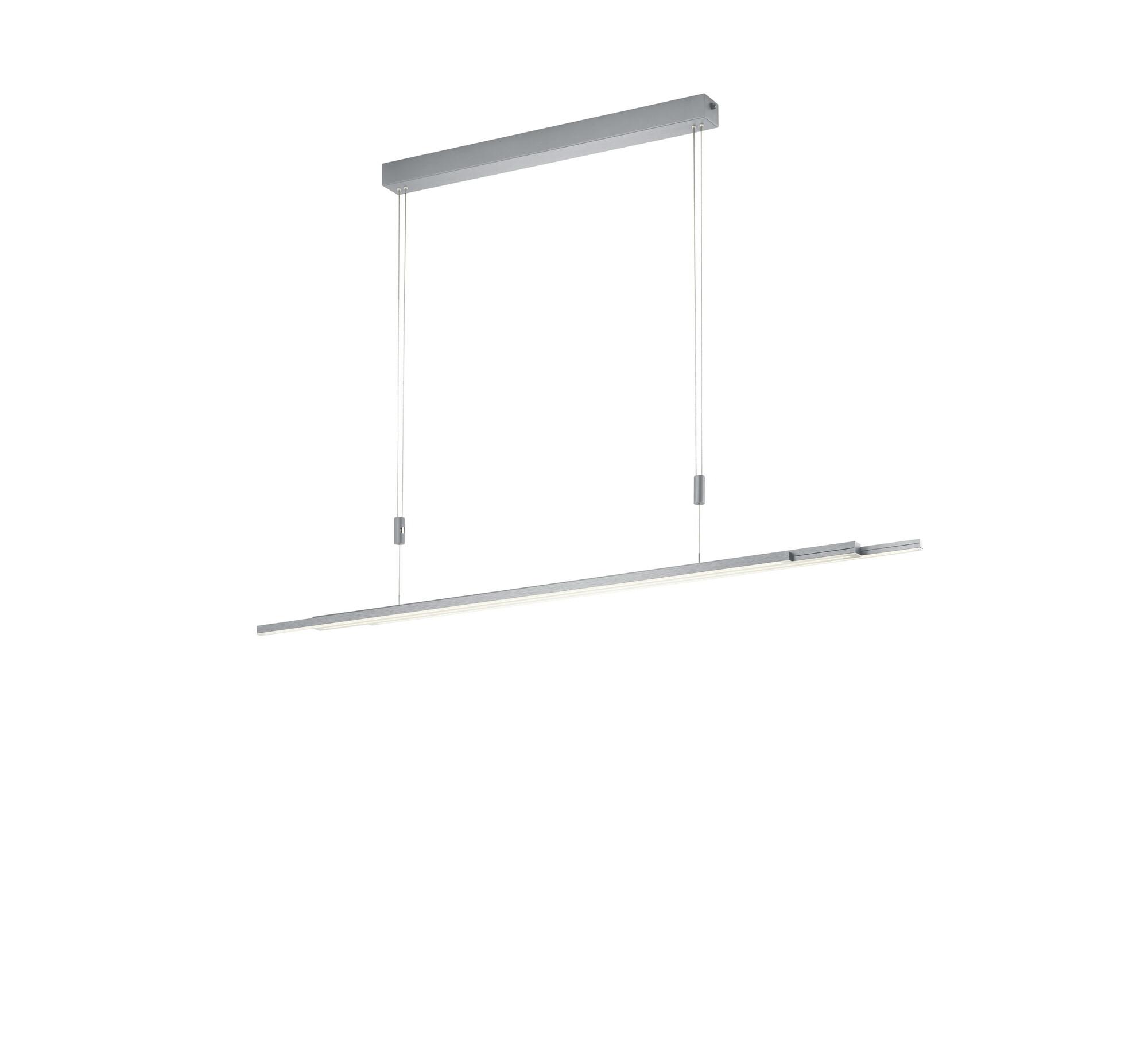 L LIGHTLINE Suspensions LED 1x60W/5500lm Argent