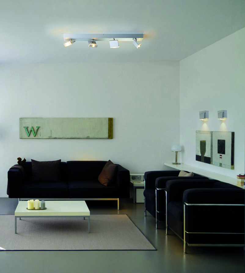 ELLE Opbouwspot LED 4x6,5W/610lm Zilver