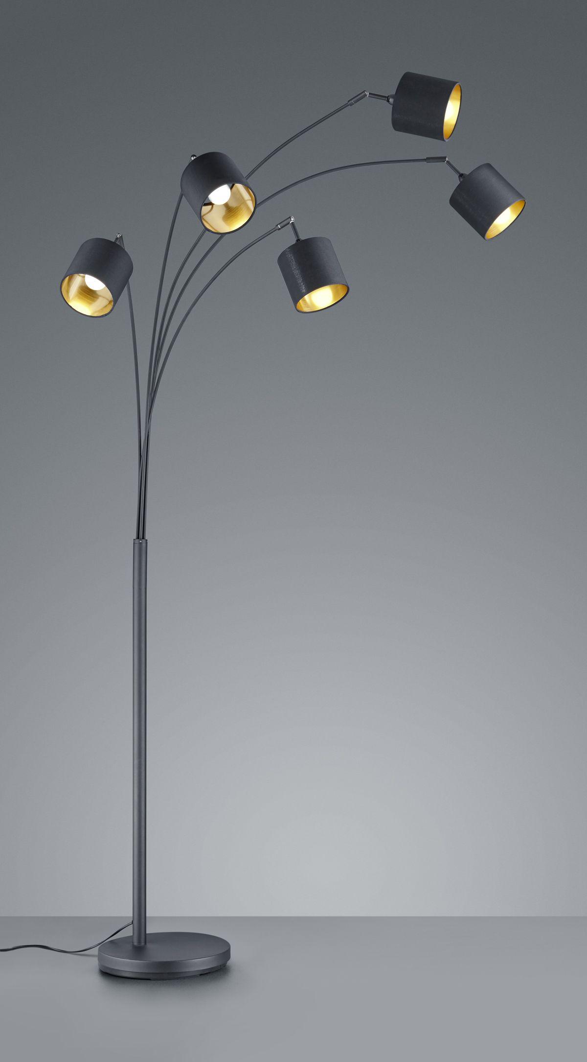 TOMMY Vloerlamp E14 5x Zwart