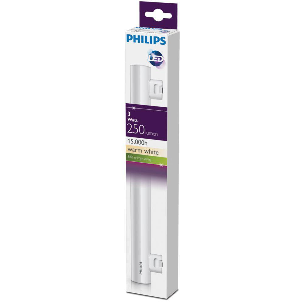 Philips LED linear S14S 3W 250lm 2700K Tube Frosted