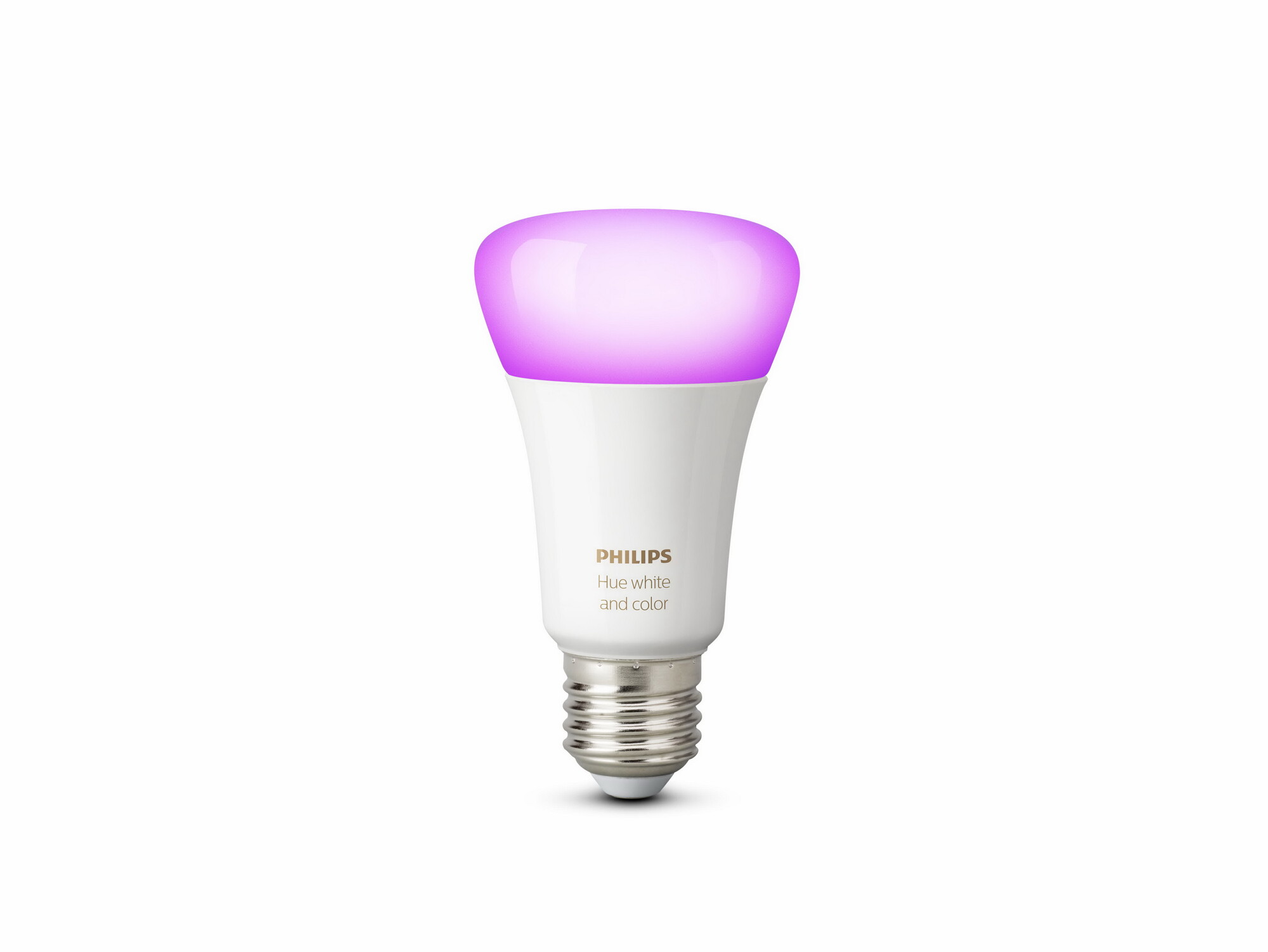 Philips HUE White and color ambiance E27 9W 806lm 2000K-6500K Lamp Frosted