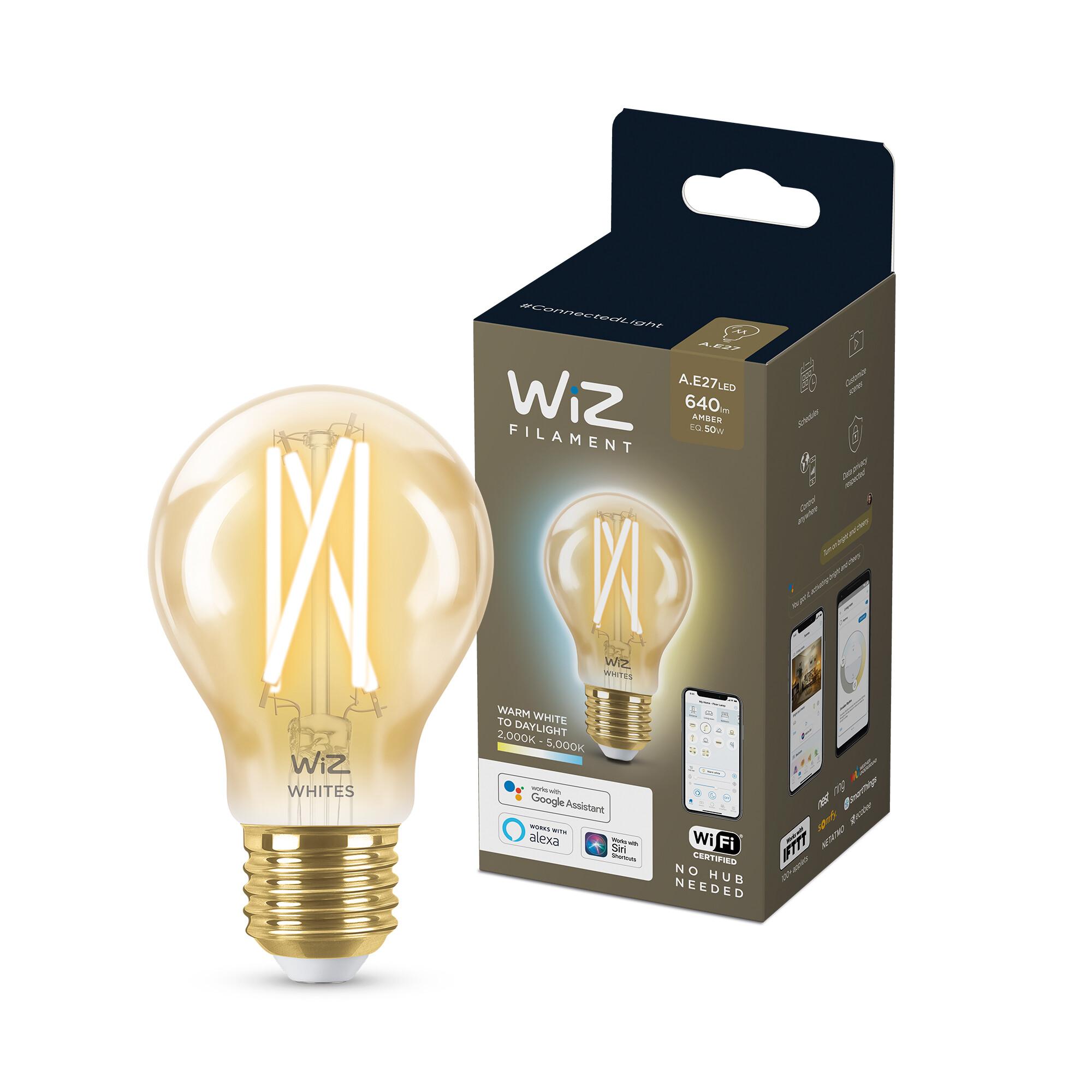 WiZ E27 50W 640lm 2000K Lamp Gouden coating