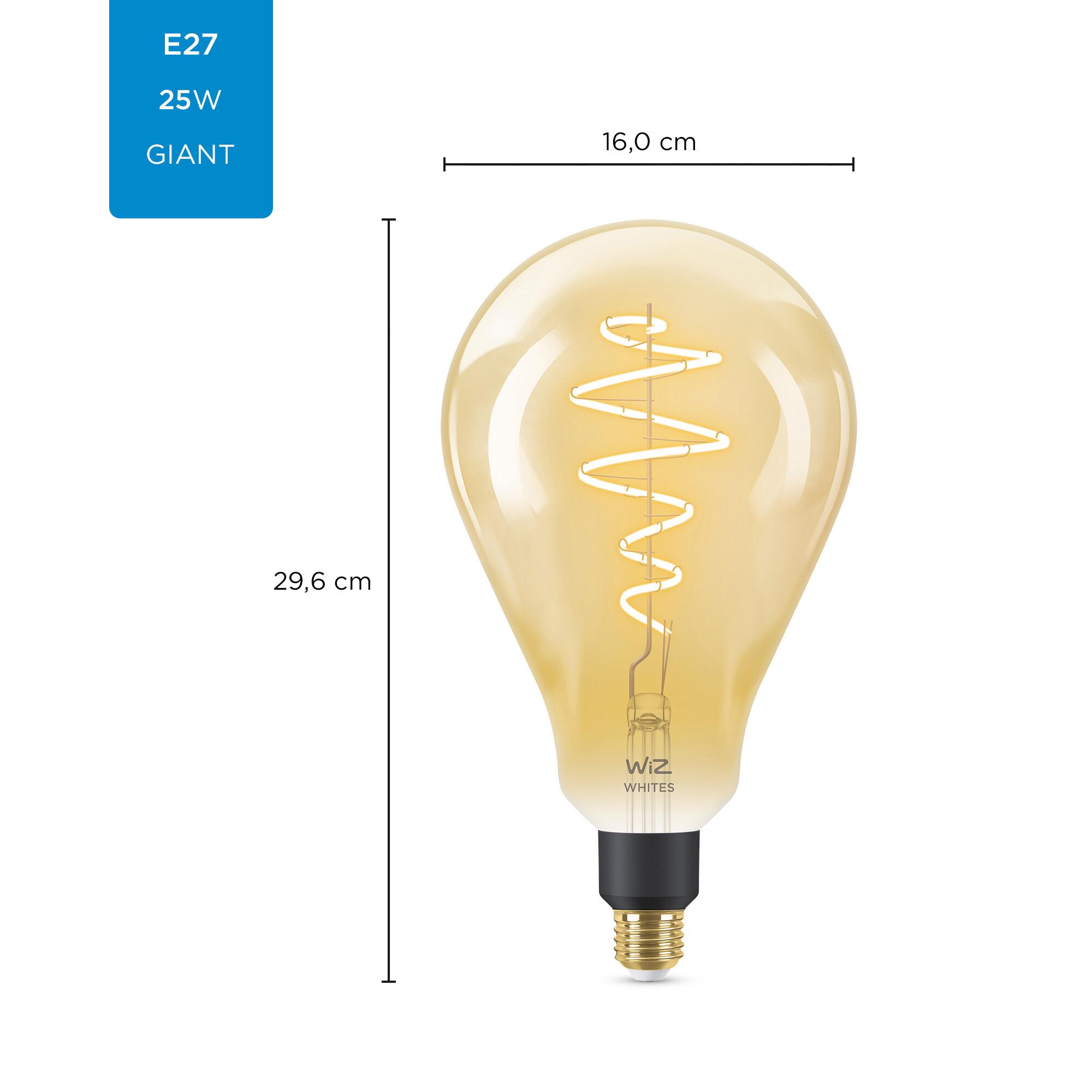 WiZ E27 25W 390lm 2000K Lamp Gouden coating