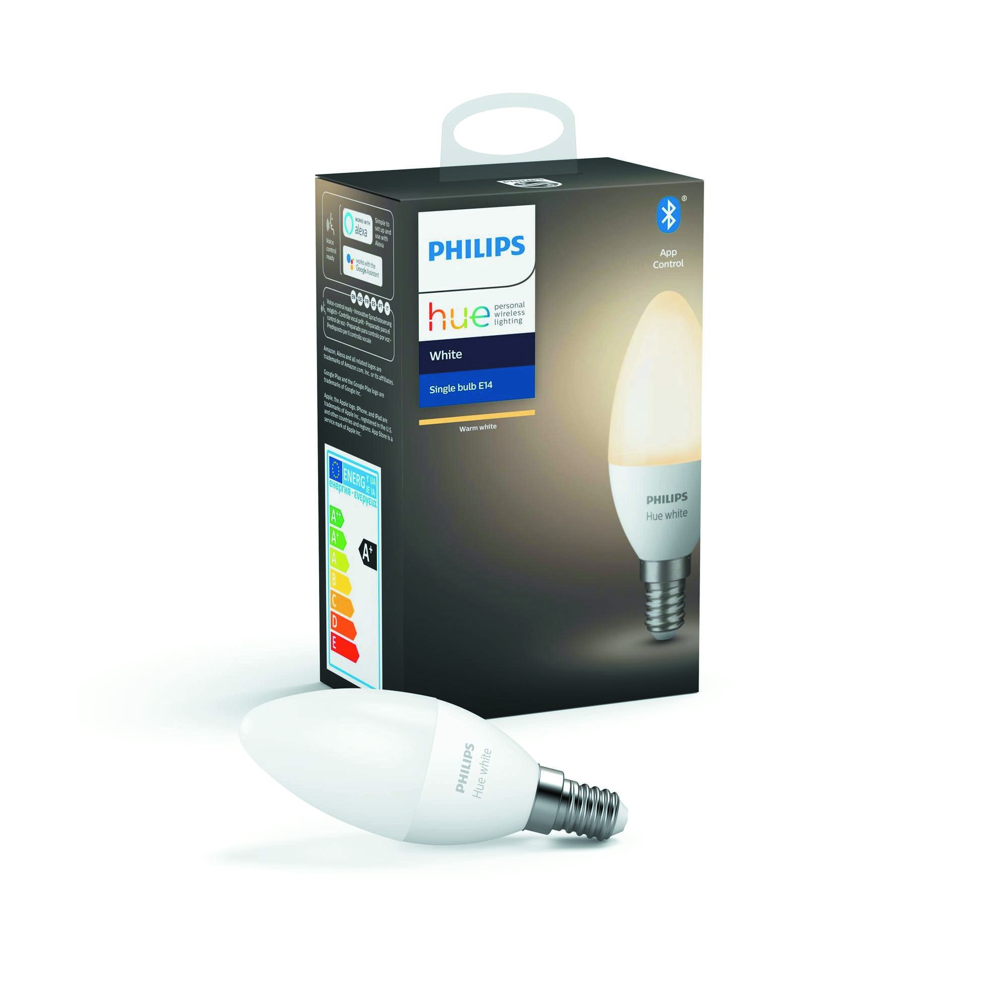 Philips HUE White E14 5,5W 470lm 2700K Lamp Frosted