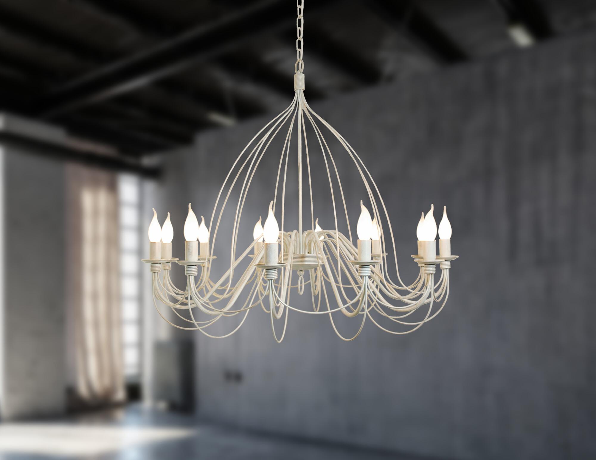 BELLEVILLE Hanglamp E14 12x Beige