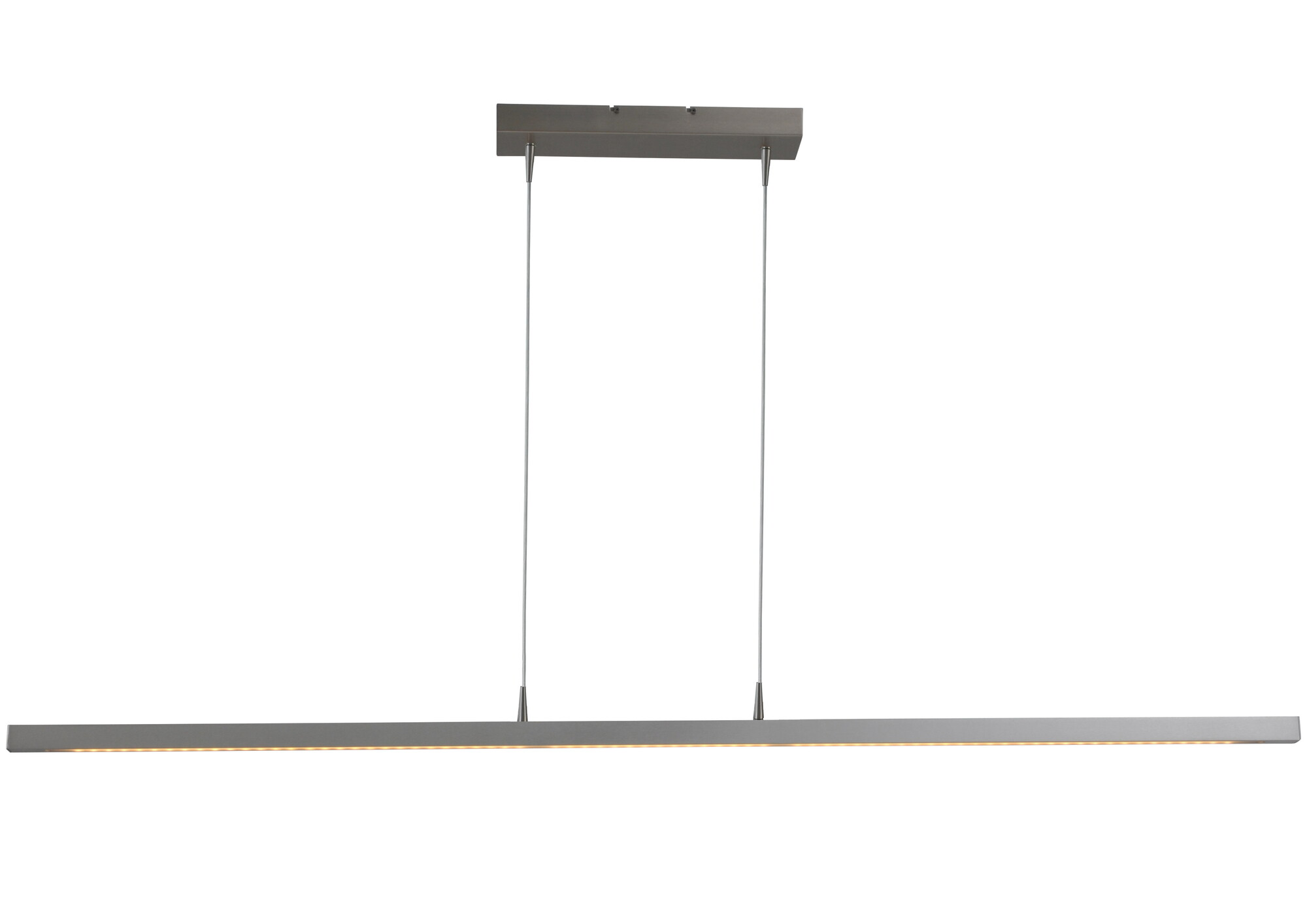 REAL Hanglamp LED 1x40W/6270lm Zilver