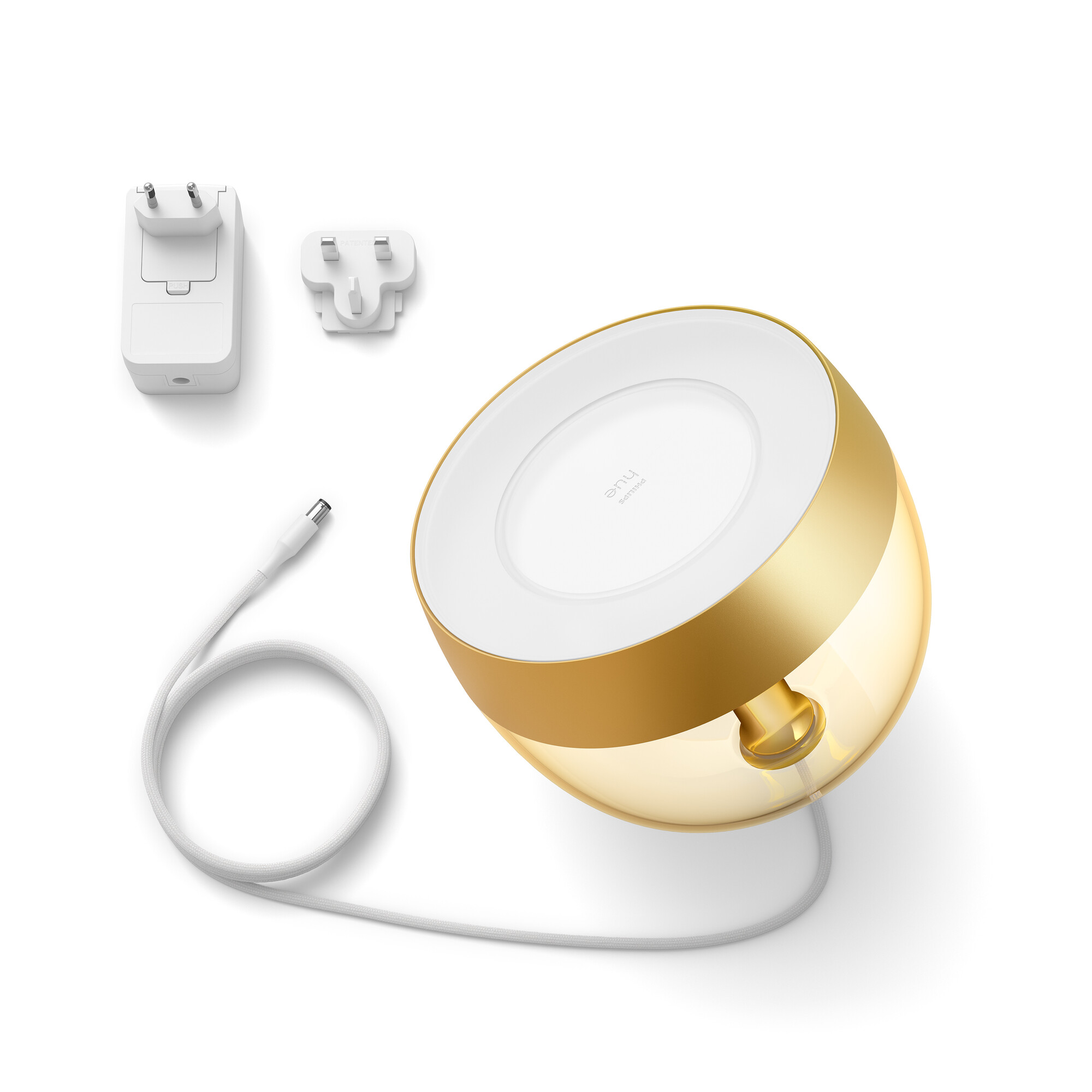 Philips HUE IRIS Lampe de table LED 1x8,1W/570lm Or