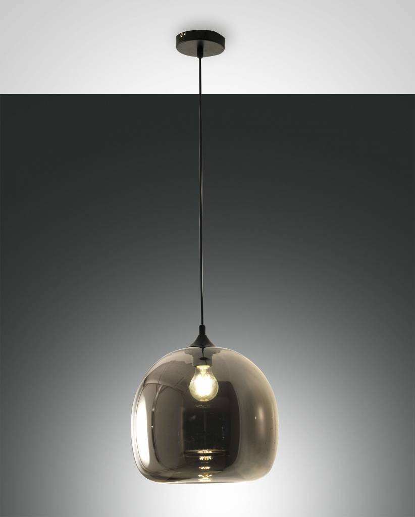 MAIA Hanglamp E27 1x Lichtgrijs