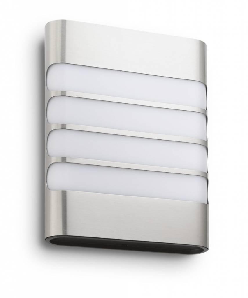 Philips RACCOON Wandlamp LED 1x3W/270lm Lichtgrijs
