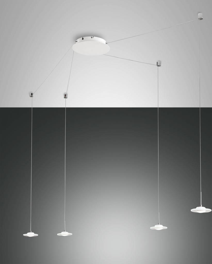 SUSANNA Hanglamp LED 4x32W/720lm Wit