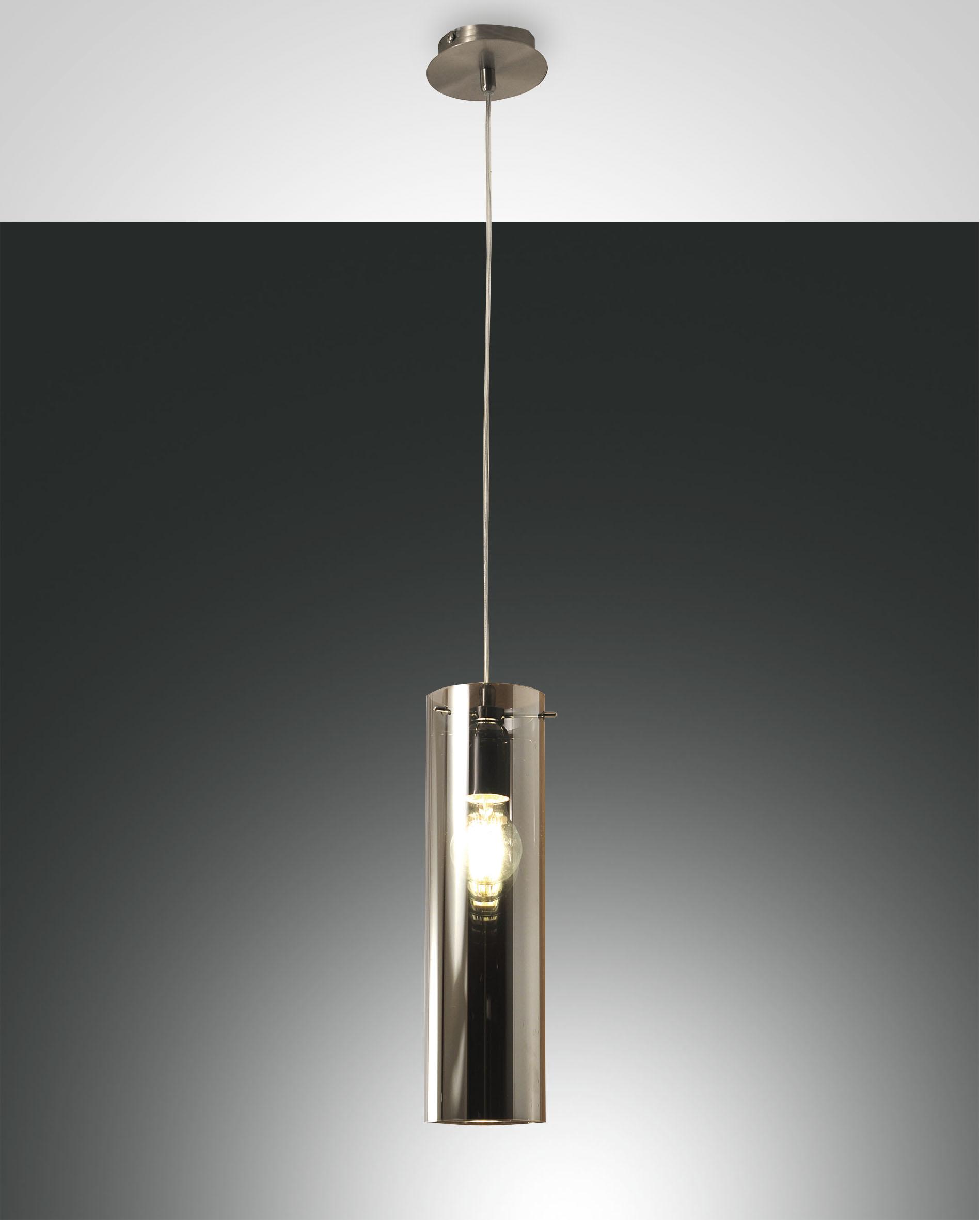 SINTESI Hanglamp E27 1x Lichtgrijs