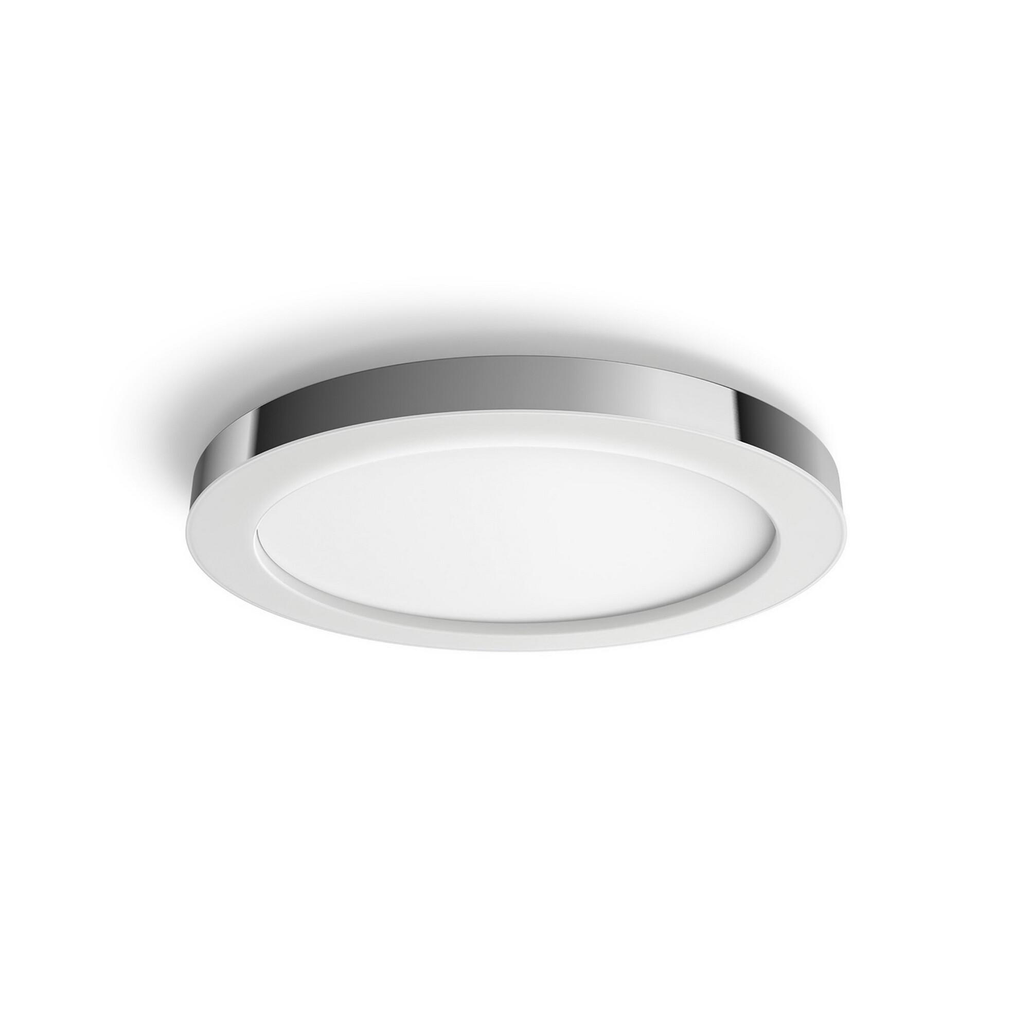 Philips HUE ADORE Plafonnier LED 1x40W/2400lm Argent