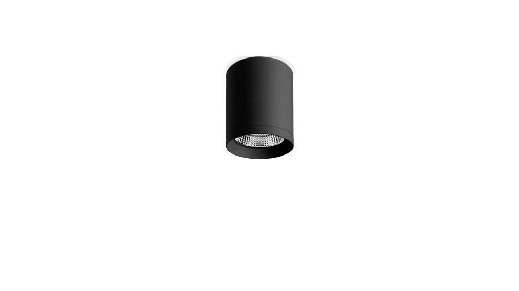 TOP Opbouwspot LED 1x5W/480lm Zwart