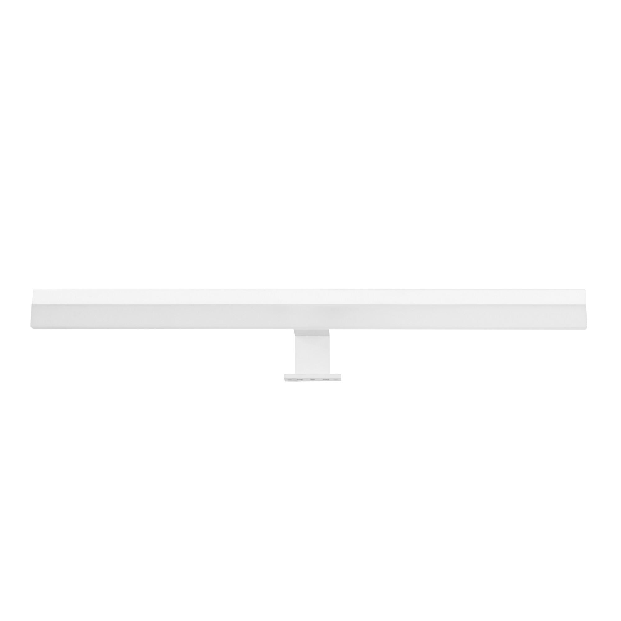 DECADE Wandlamp LED 1x12W/984lm Rechthoekig Wit