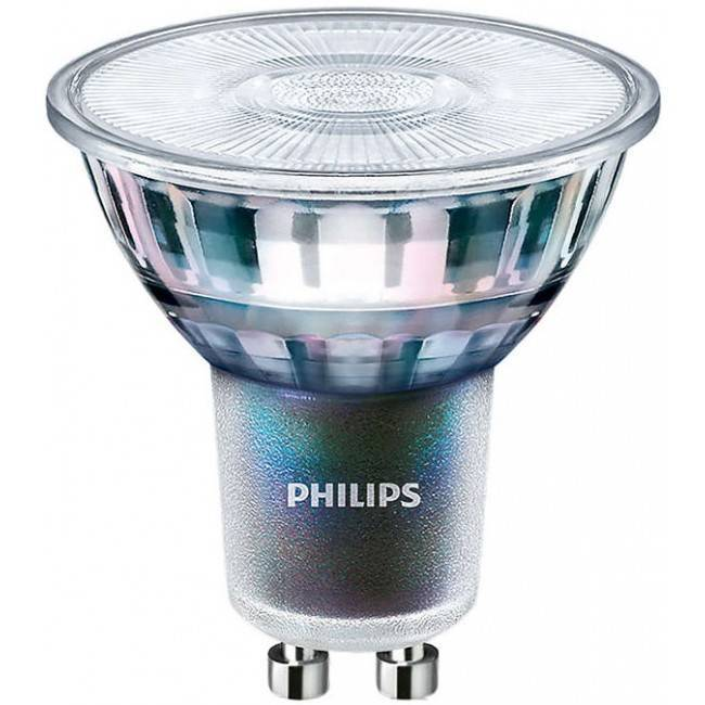 Philips Master LED GU10 5,5W 375lm 3000K Spot Transparant