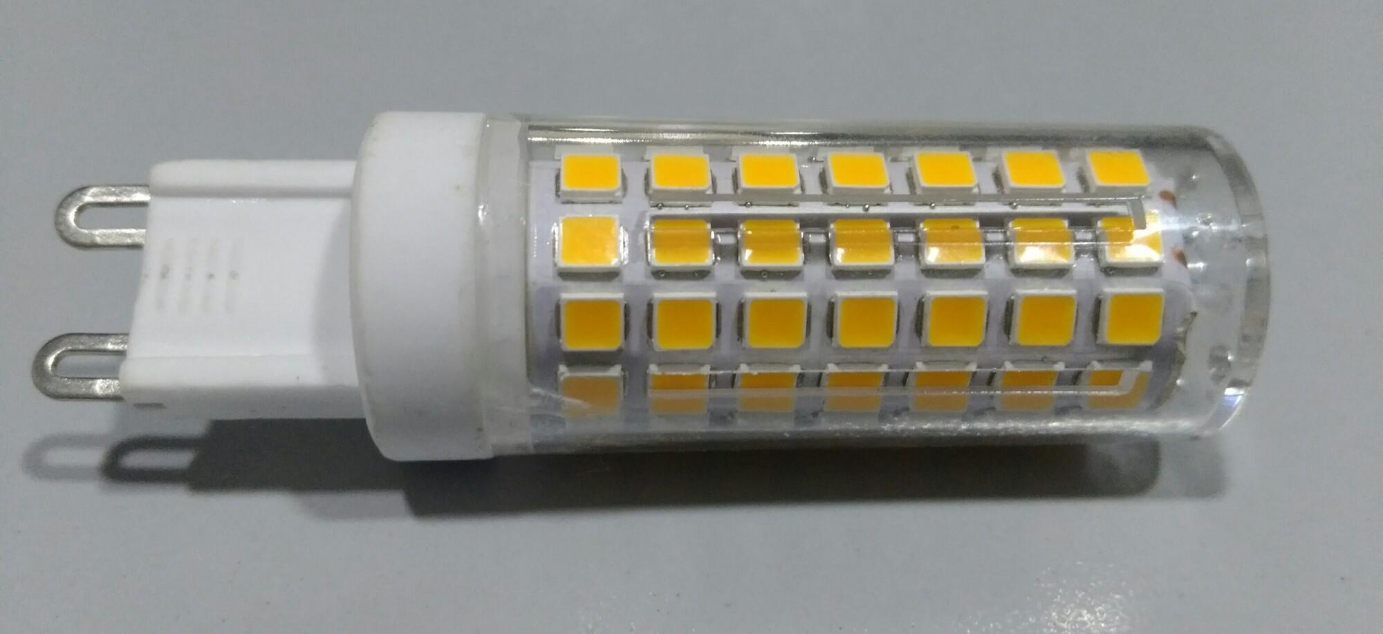 LED G9 5W 450lm 3000K Capsule Transparant