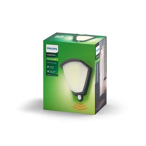 Philips KISKADEE Wandlamp E27 1x Antraciet