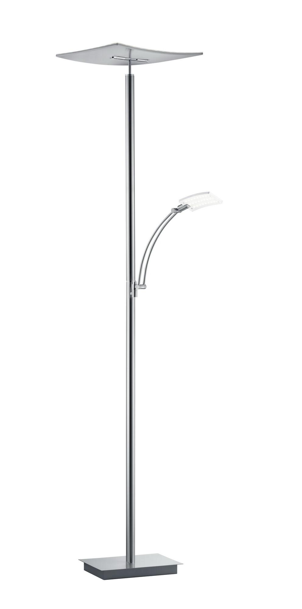 MODENA Lampadaire LED 2x36W/3500lm Argent