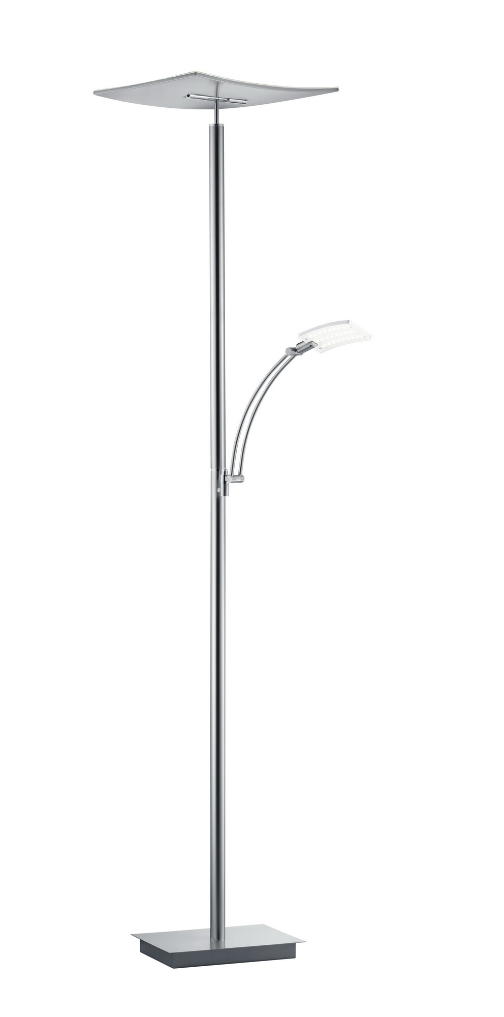 MODENA Vloerlamp LED 2x36W/3500lm Zilver