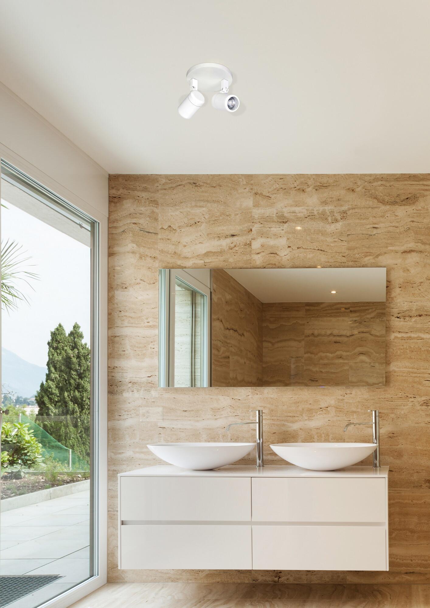 RAIN opbouwspots badkamer