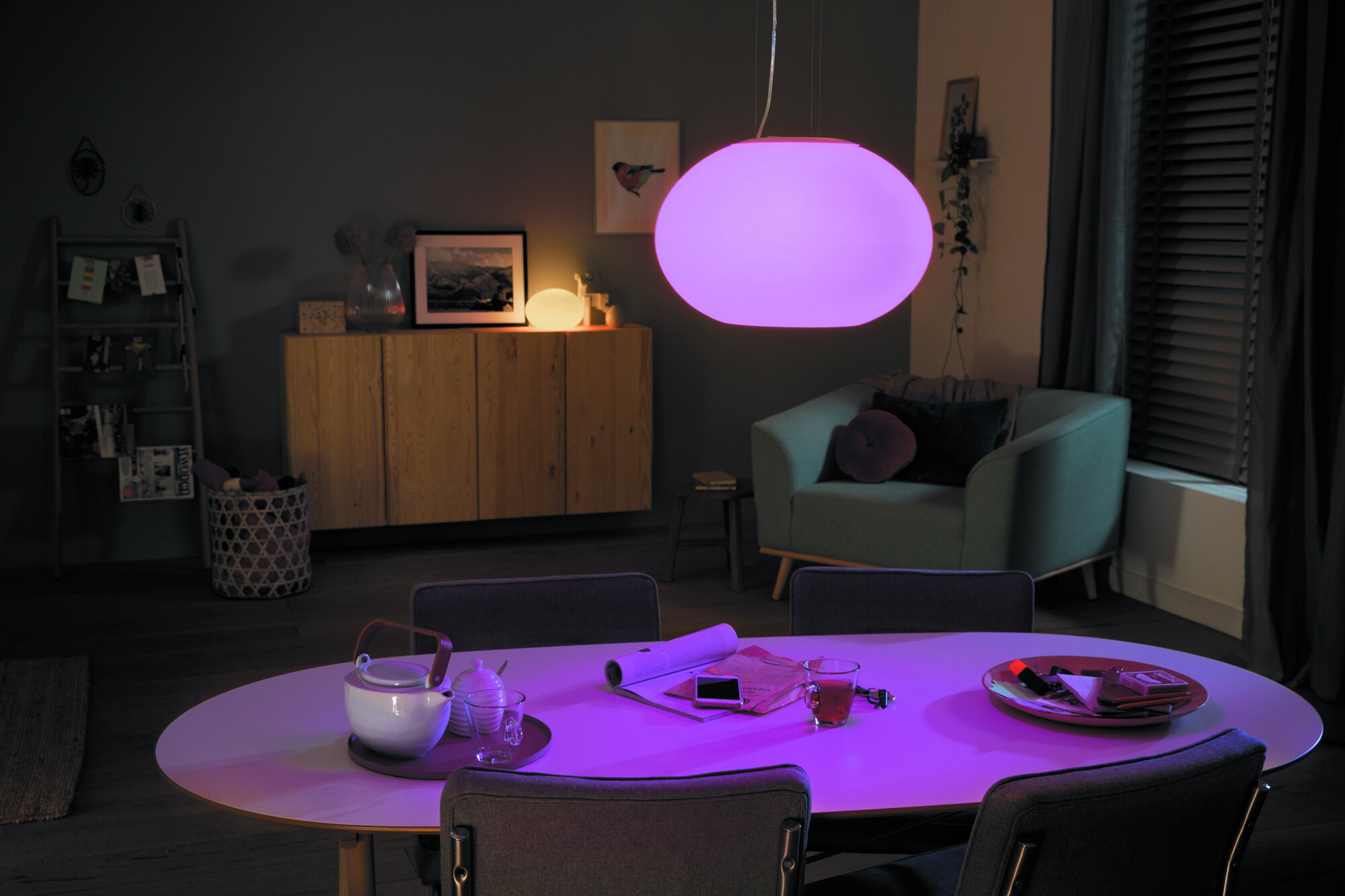 Philips HUE FLOURISH Hanglamp LED 1x31W/3000lm Wit