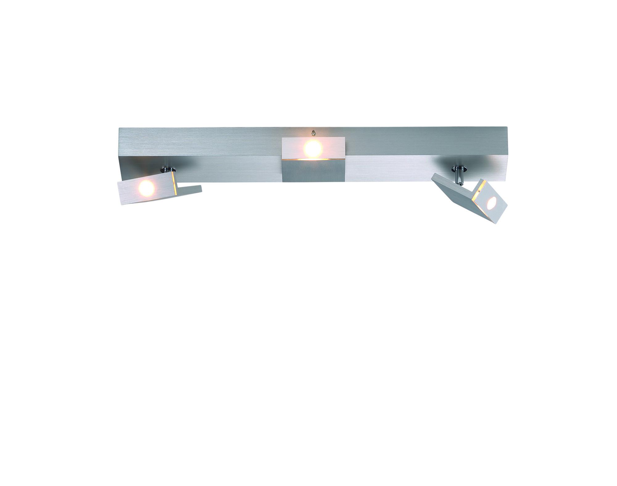 ELLE Opbouwspot LED 3x6,5W/610lm Zilver