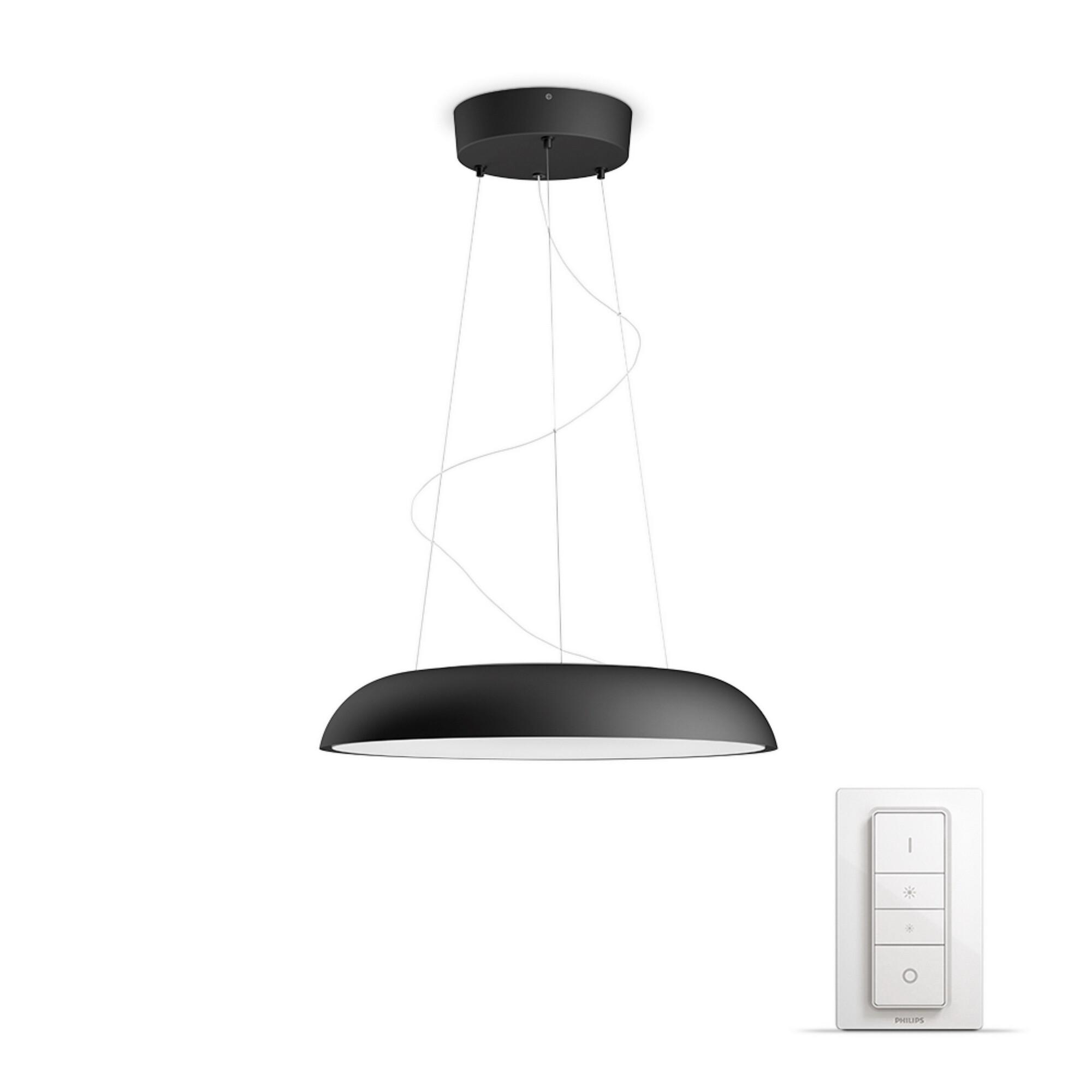 Philips HUE AMAZE Suspensions LED 1x34W/3000lm Noir