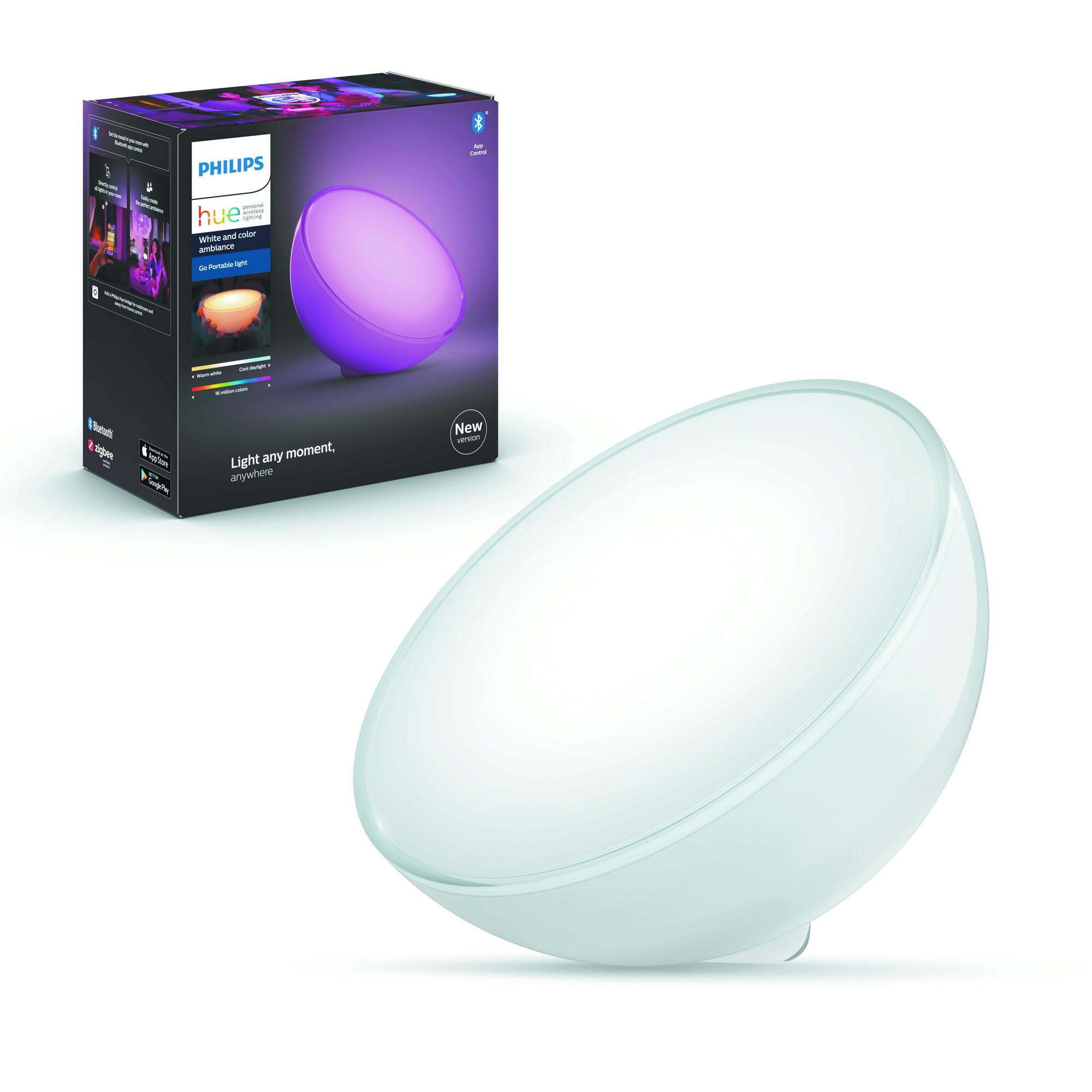 Philips HUE GO Tafellamp LED 1x6W/520lm Wit