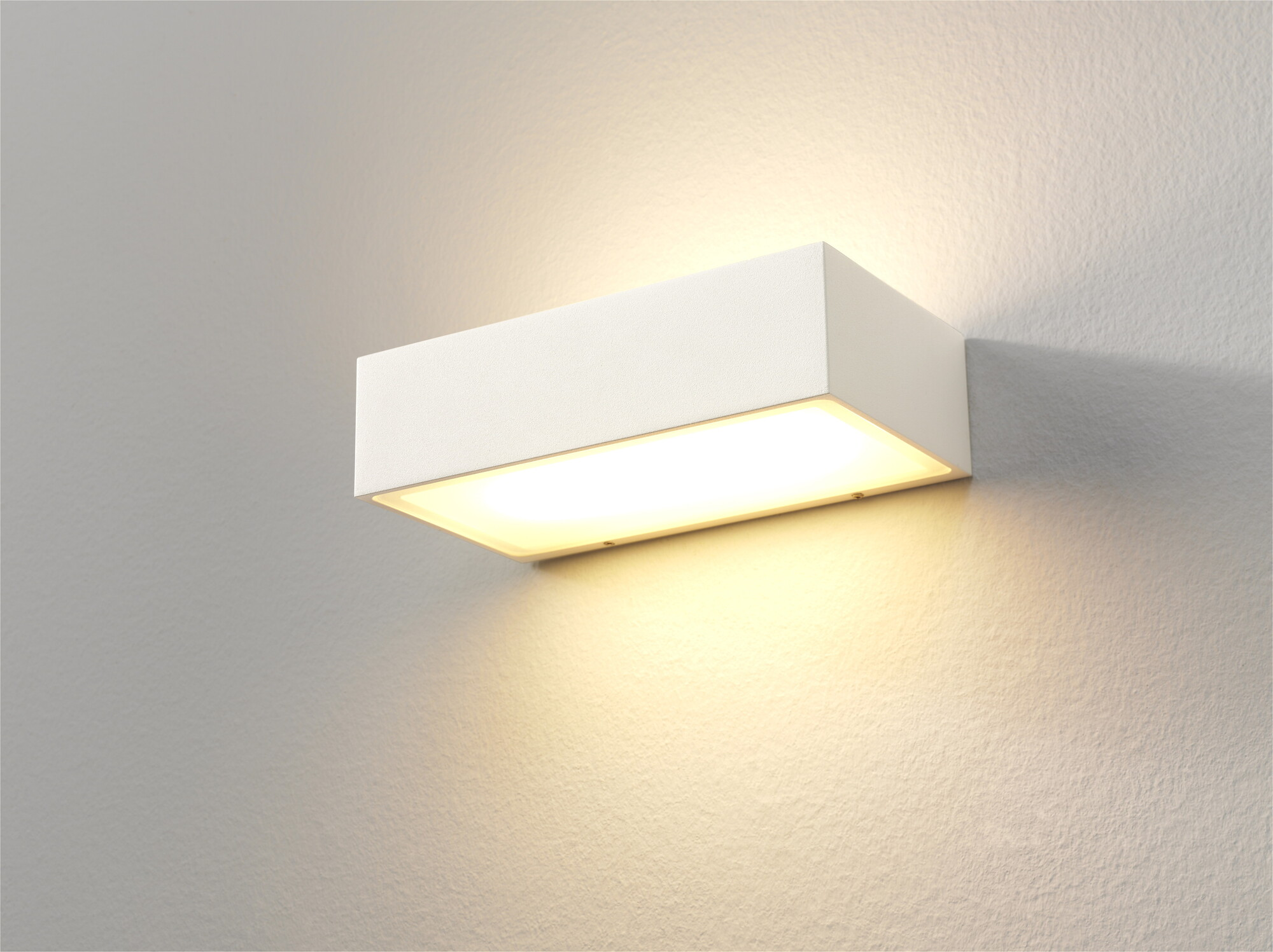 EINDHOVEN Wandlamp LED 2x8W/720lm Rechthoekig Wit