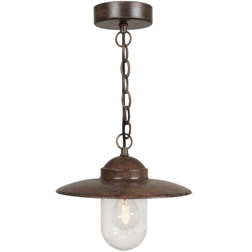 LUXEMBOURG Hanglamp E27 1x Bruin