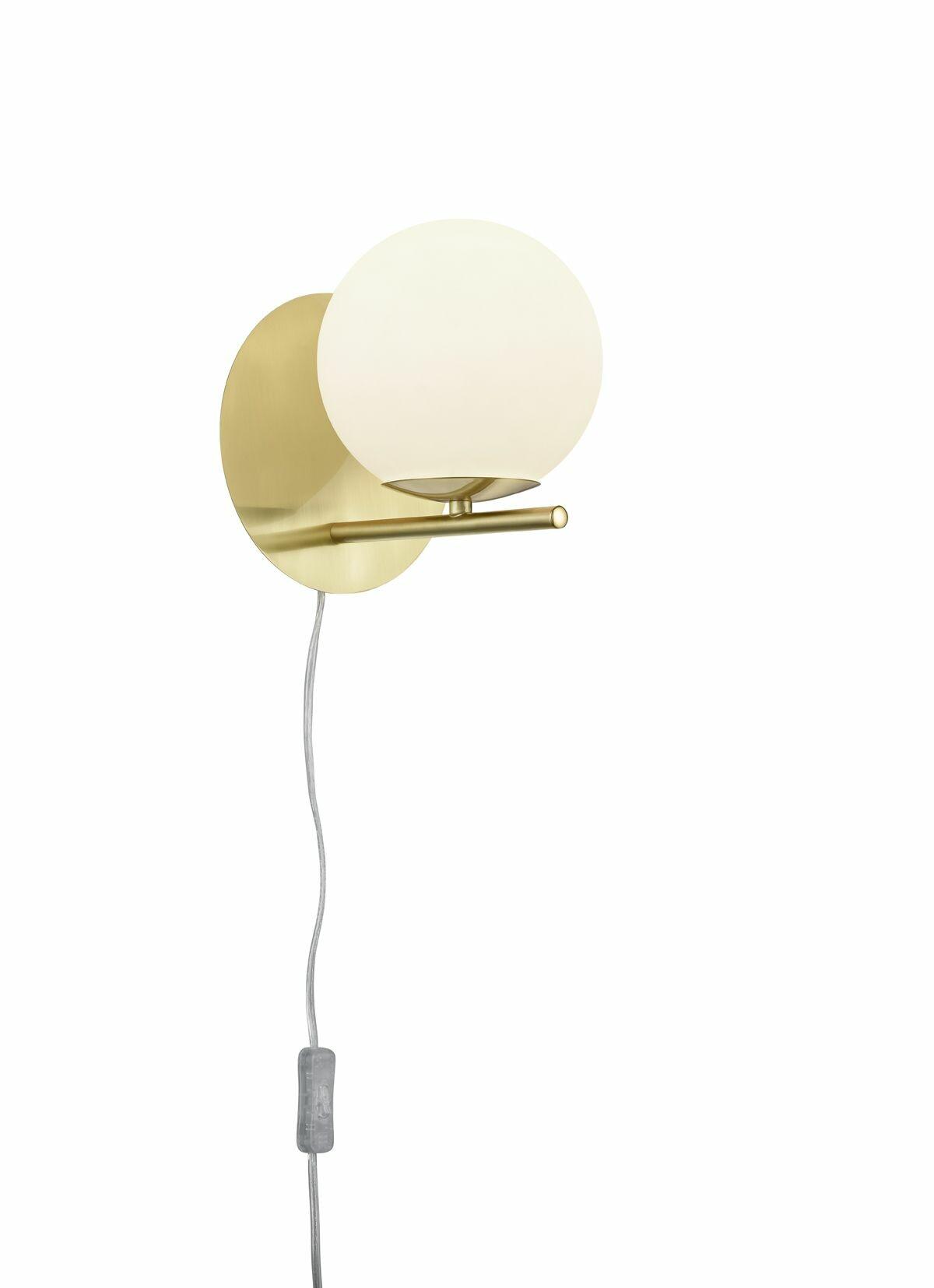 PERU Wandlamp E14 1x Koper