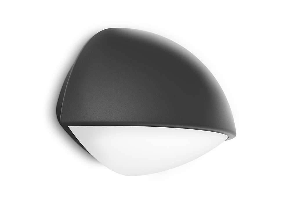 Philips DUST Wandlamp LED 1x4W/270lm Antraciet