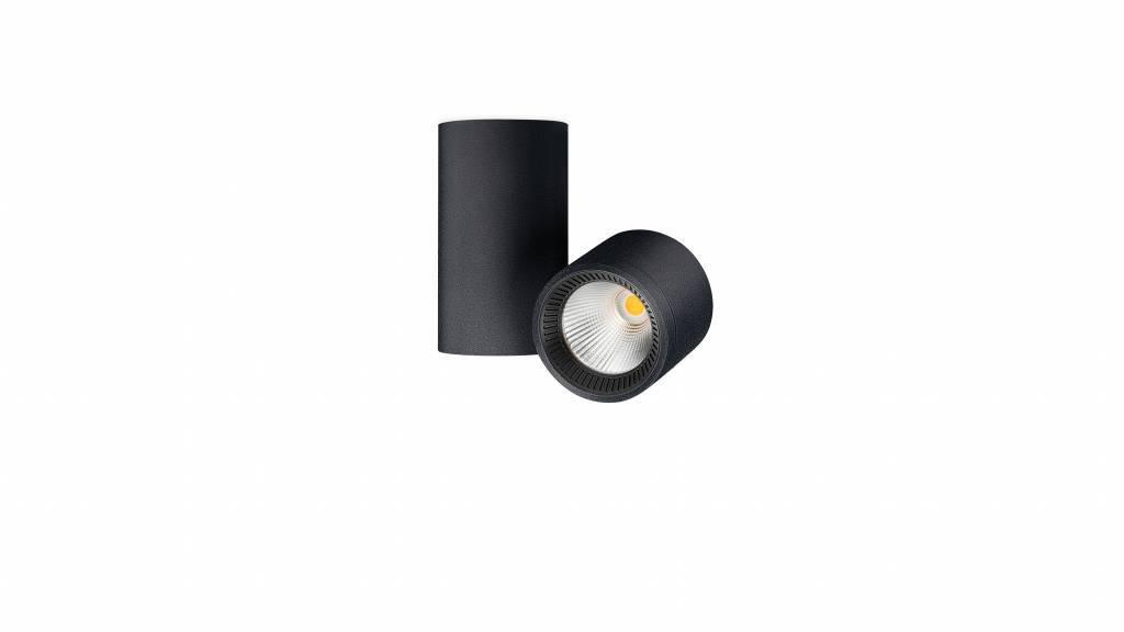 IO Opbouwspot LED 1x4,5W/485lm Zwart