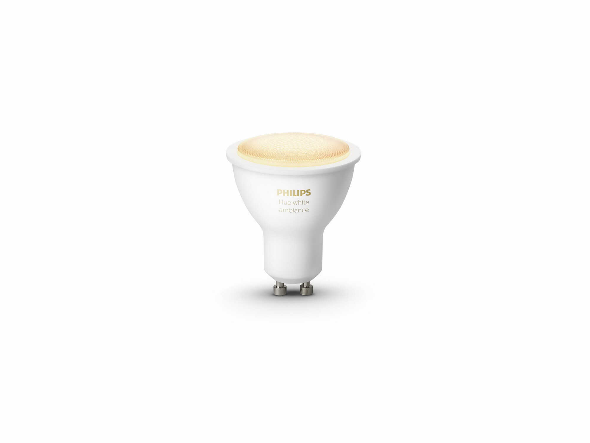 Philips HUE White ambiance GU10 5W 350lm 2200K-6500K Spot Frosted