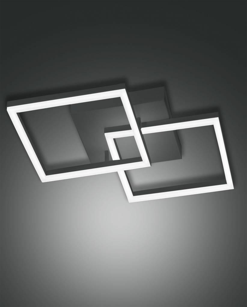 BARD Plafondlamp LED 1x39W/3510lm Vierkant Antraciet