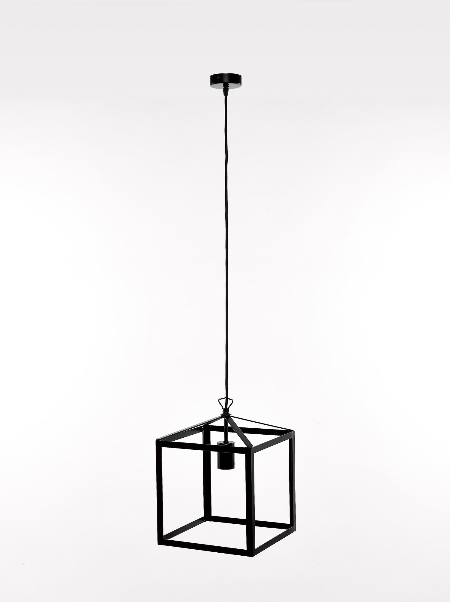 QUADRO2 Hanglamp E27 1x Zwart