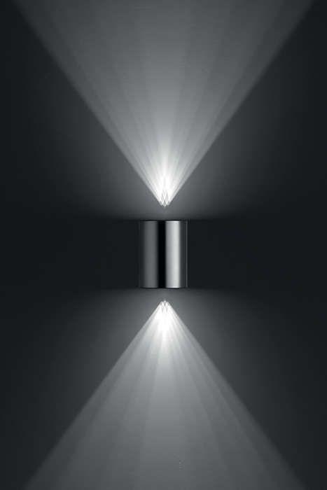 Philips BUXUS Wandlamp LED 2x5W/500lm Lichtgrijs
